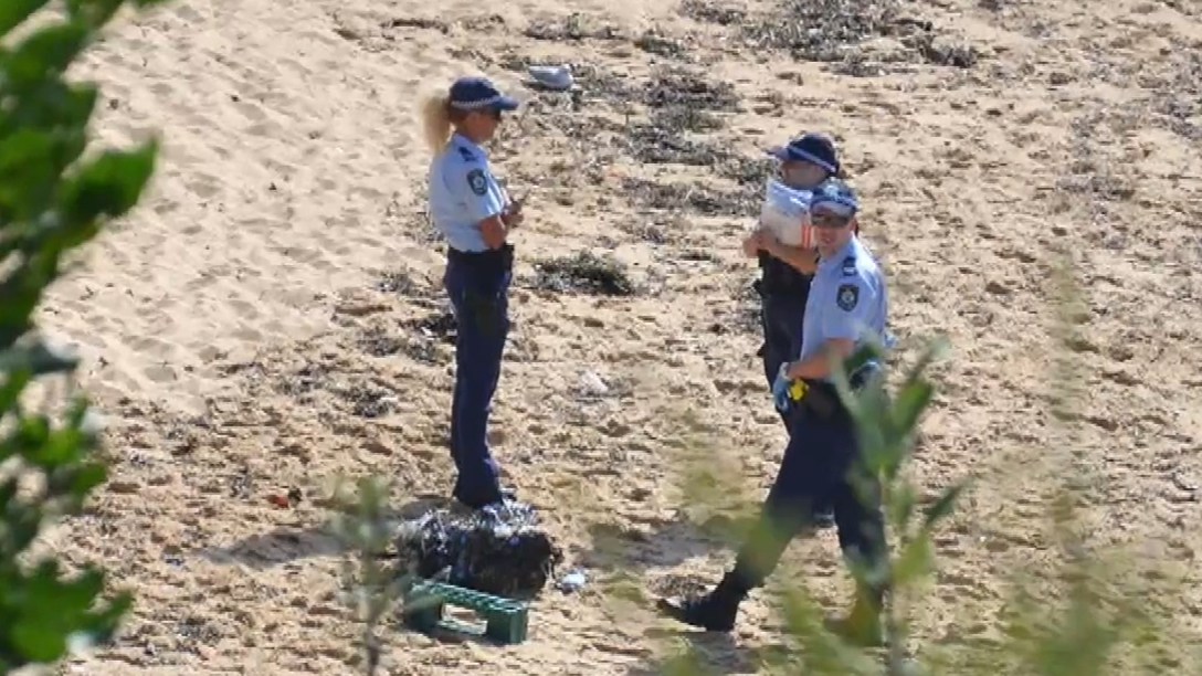 Suspicious package shuts down beach