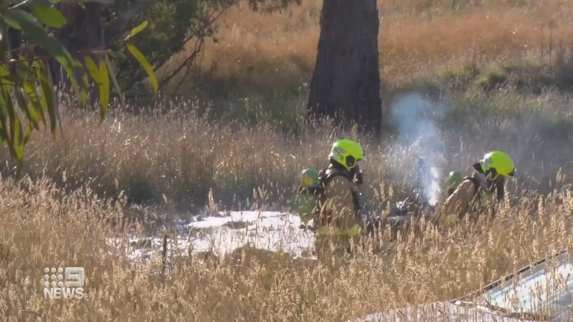 Helicopter crash in regional NSW