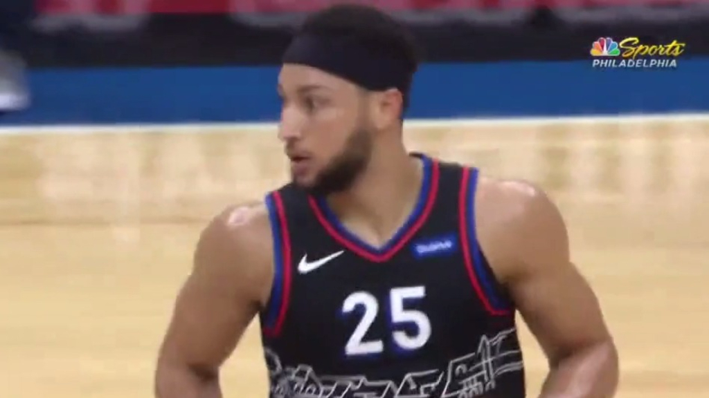 Simmons forced to sit NBA All-Star game