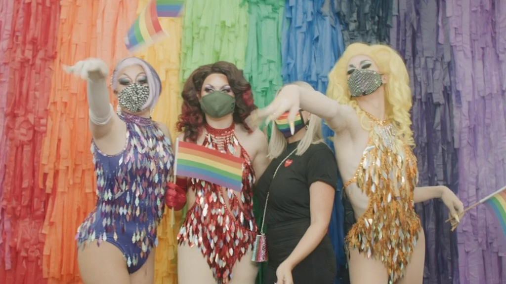 Inside Virgin Australia's first Pride Flight