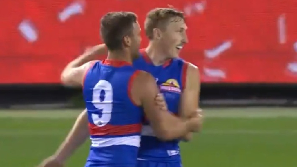 Dale bags Dogs' first goal