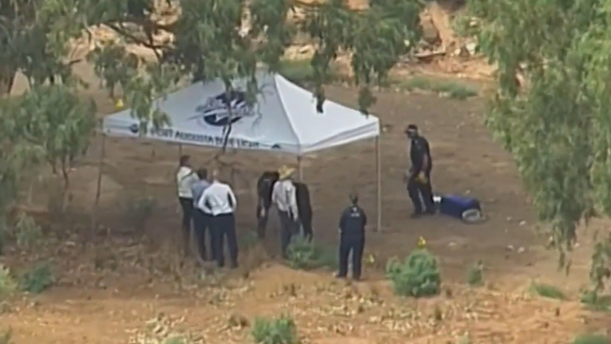 Woman's body found in a shallow grave in Flinders