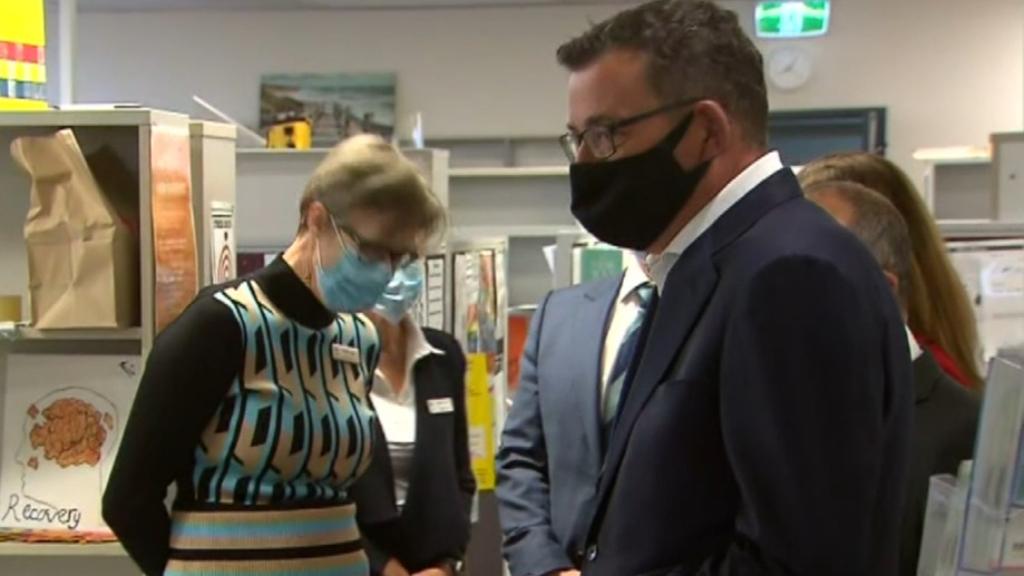 Victorian Premier Daniel Andrews hospitalised after 'concerning' fall