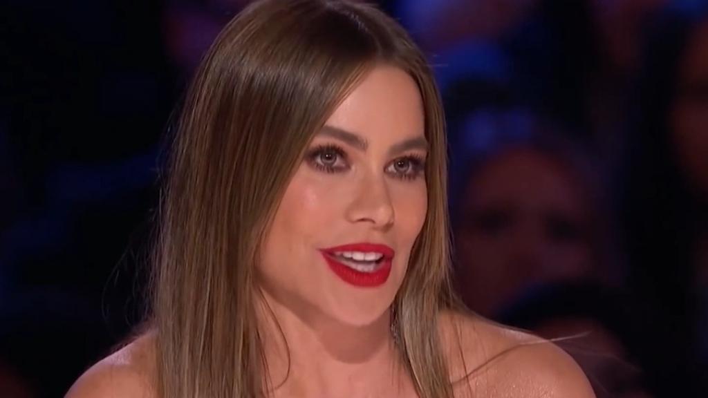 Sofia Vergara breaks down on America's Got Talent