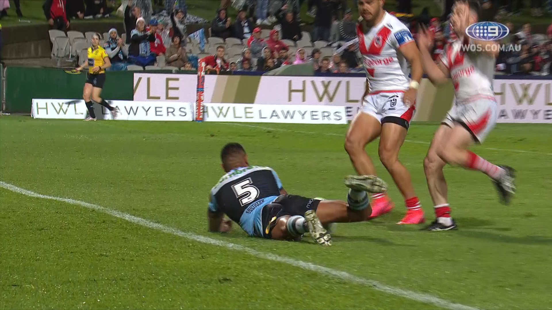NRL Highlights: The Dragons Take Down the Sharks in a 50 Point Thriller | Round 1