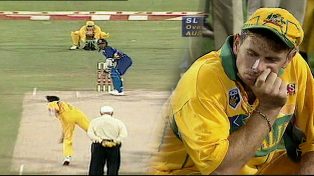 Sri Lanka stuns Australia in 1996 World Cup Final