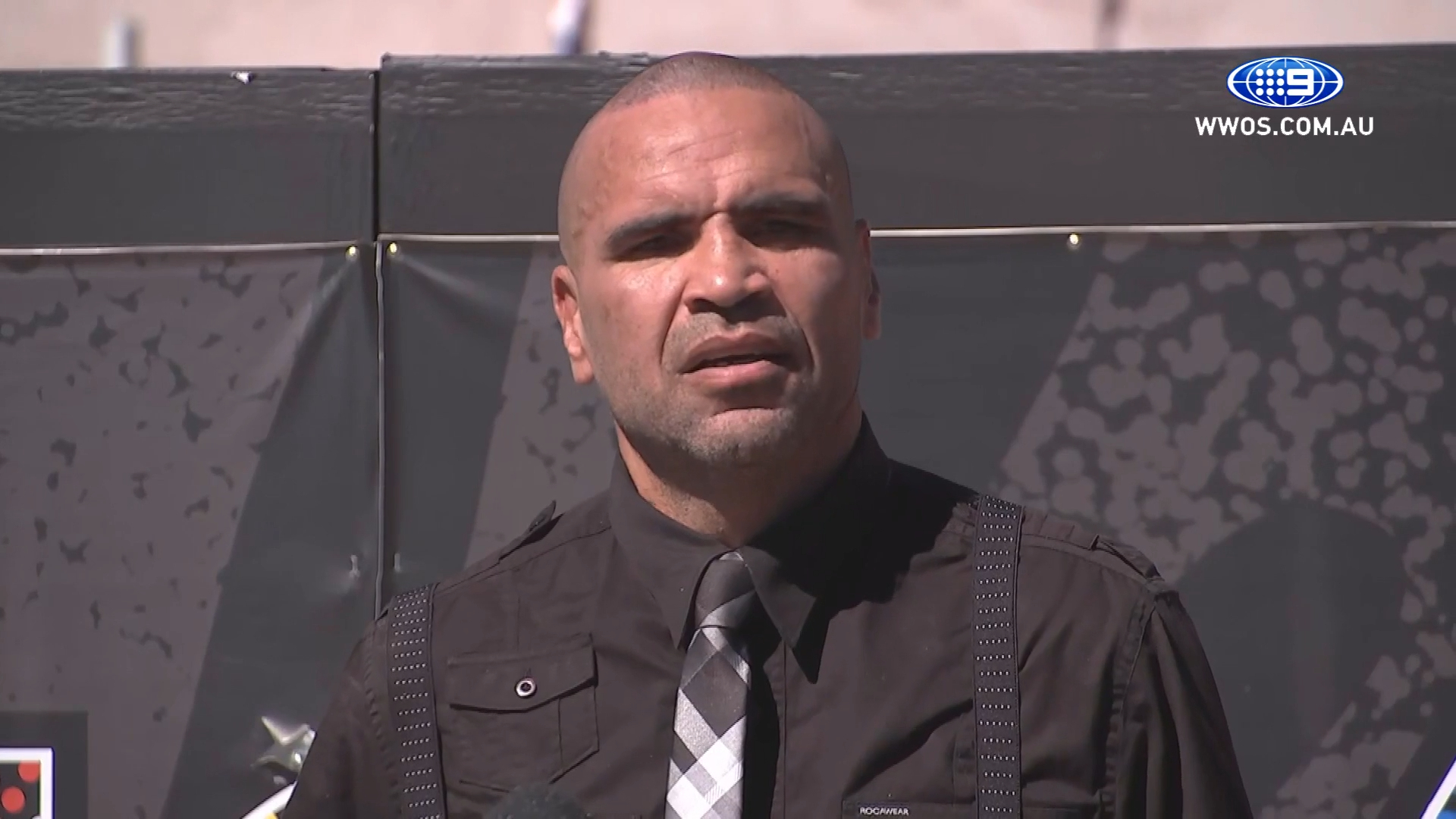 Mundine fesses up on 9-11 remark