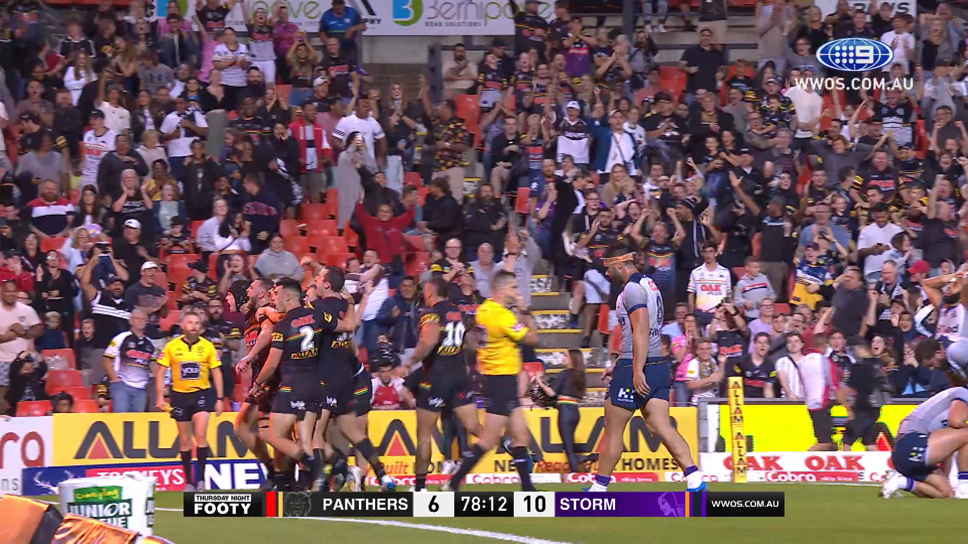 NRL Highlights: The Panthers steal victory from the Storm in the final minutes - Round 3