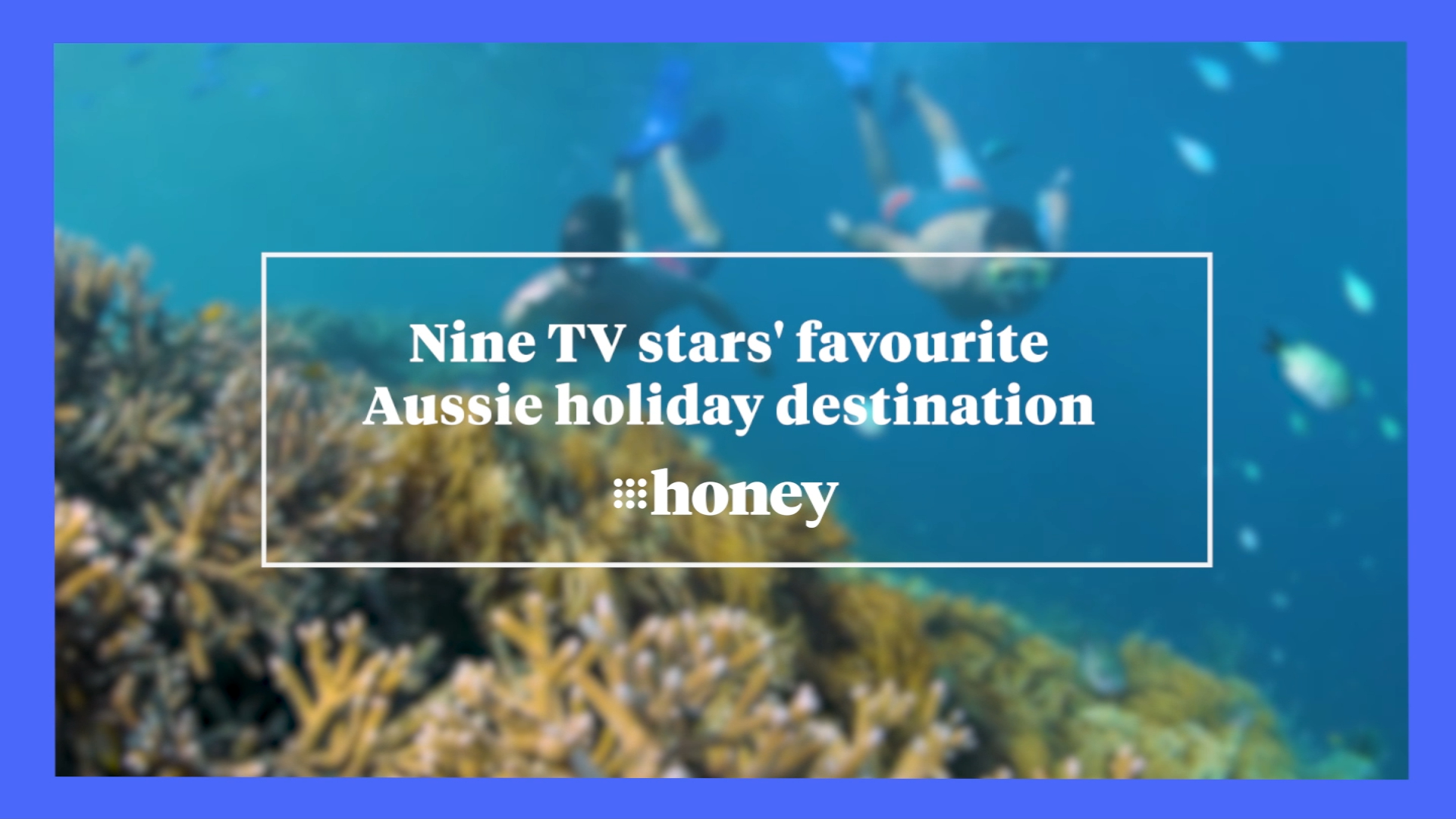 Nine TV stars' favourite Aussie holiday destination