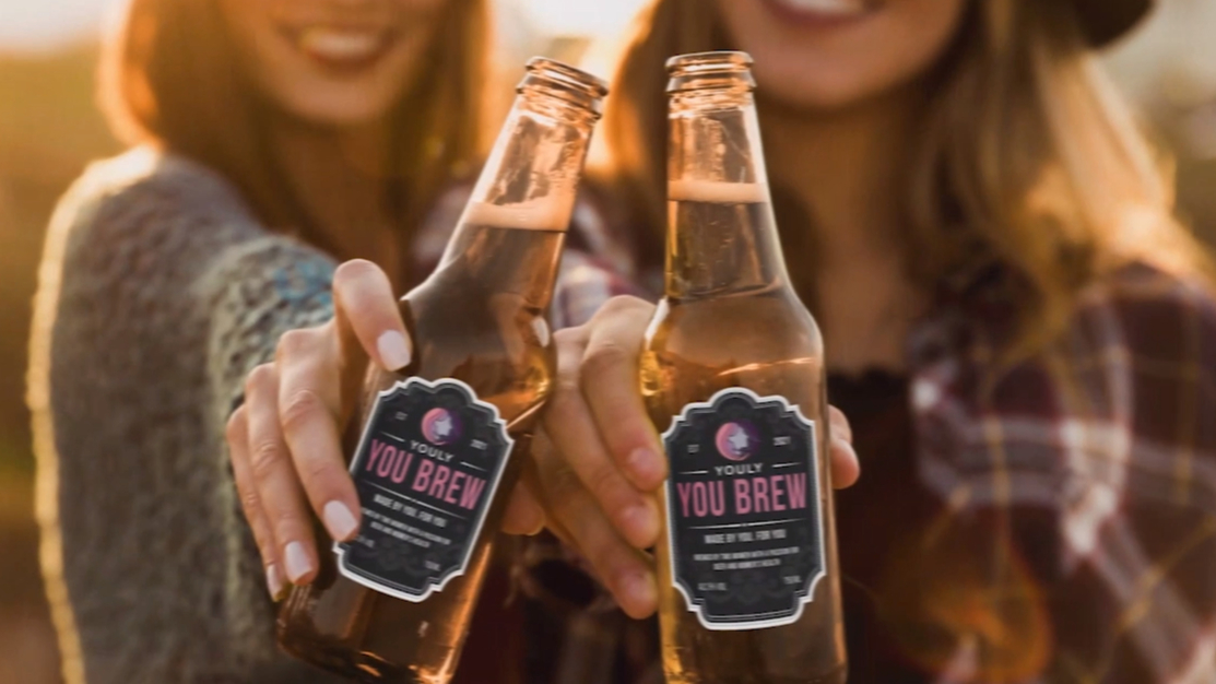 Women's health brand spruiks You Brew beer made with vaginal discharge