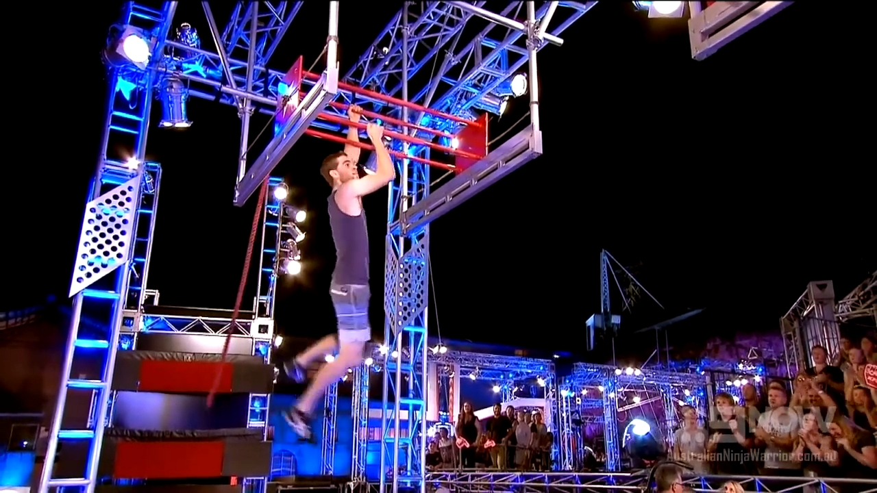 Olympian Tom O'Halloran on Australian Ninja Warrior