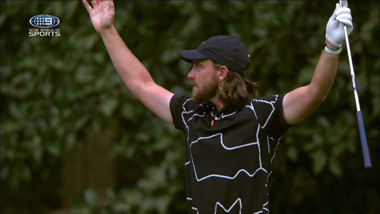 Fleetwood hits hole in one