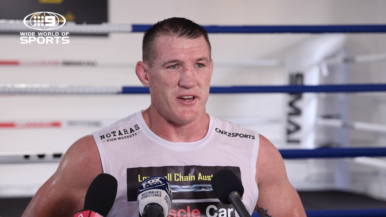 Paul Gallen discusses his upcoming fight with Lucas Browne