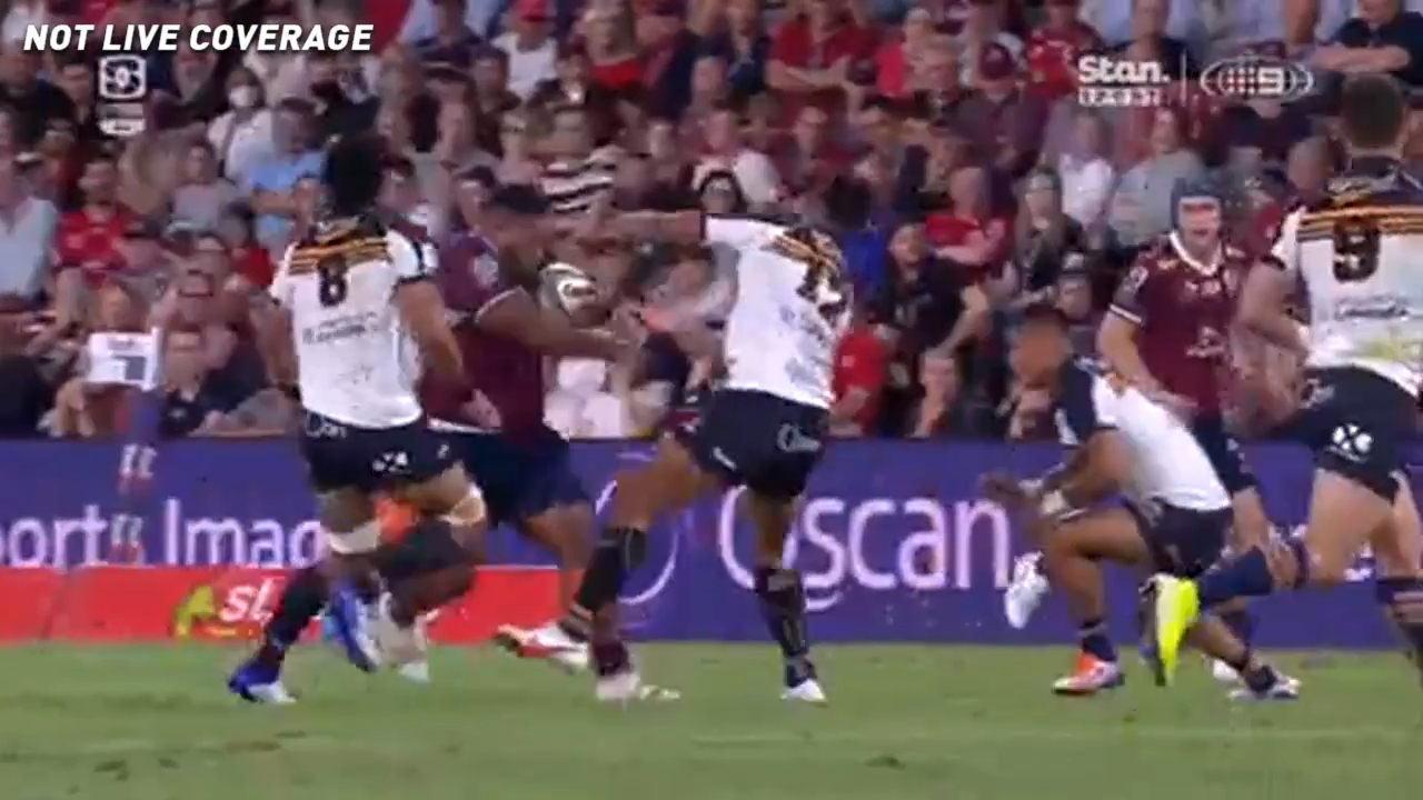 Tongan Thor goes beast mode
