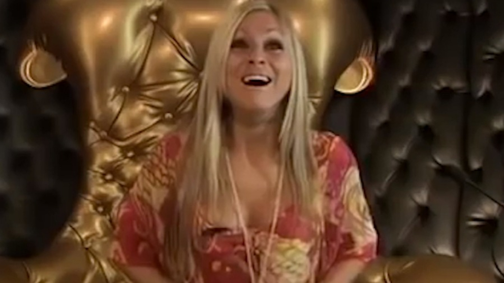 Nikki Grahame re-enters the Big Brother house