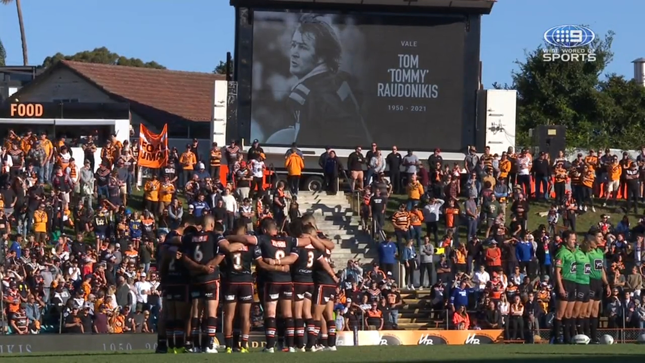 Tigers hold emotional Raudonikis tribute