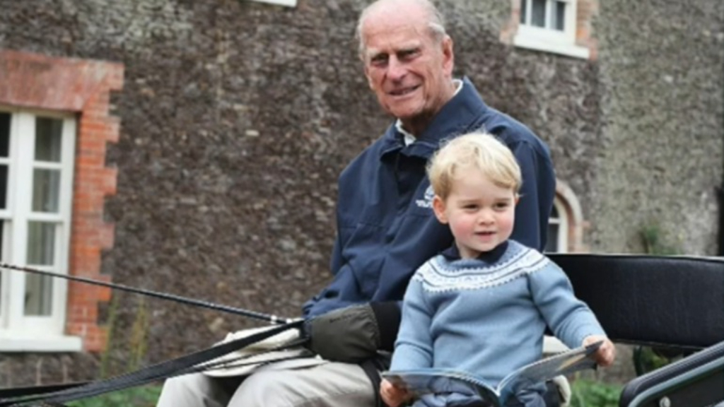 Prince William and Prince Harry pay tribute to Prince Philip