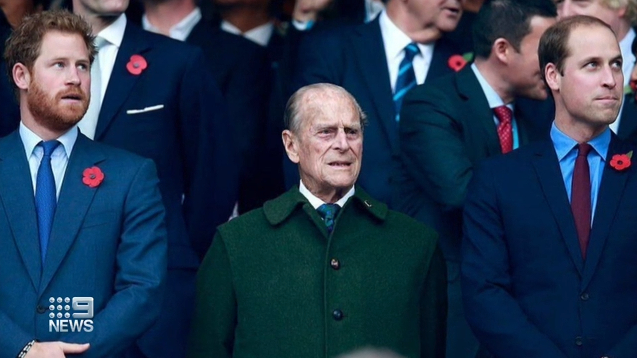 Harry and William's tributes to Prince Philip