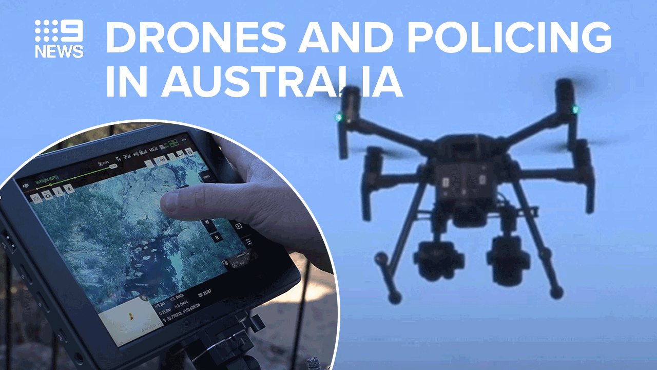 Drones changing face of policing in Australia