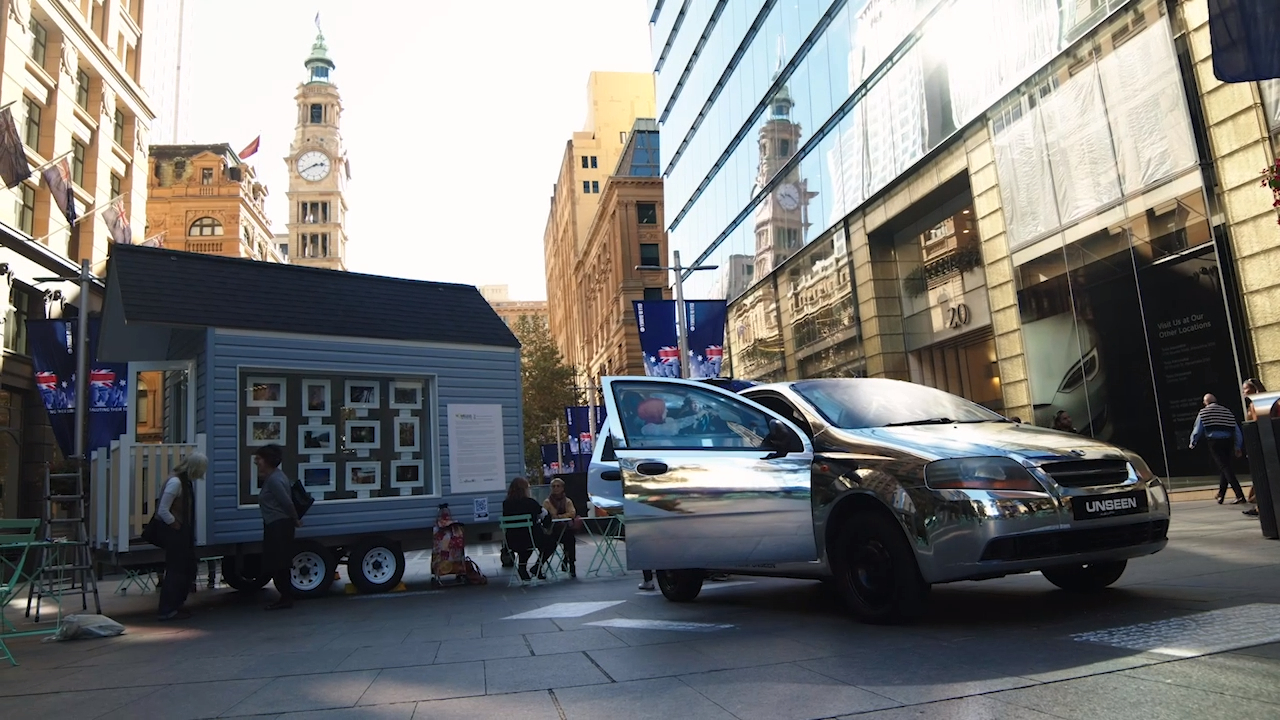 Tiny house highlights homelessness in NSW