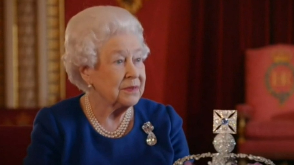 Queen back at work four days after Philip's death