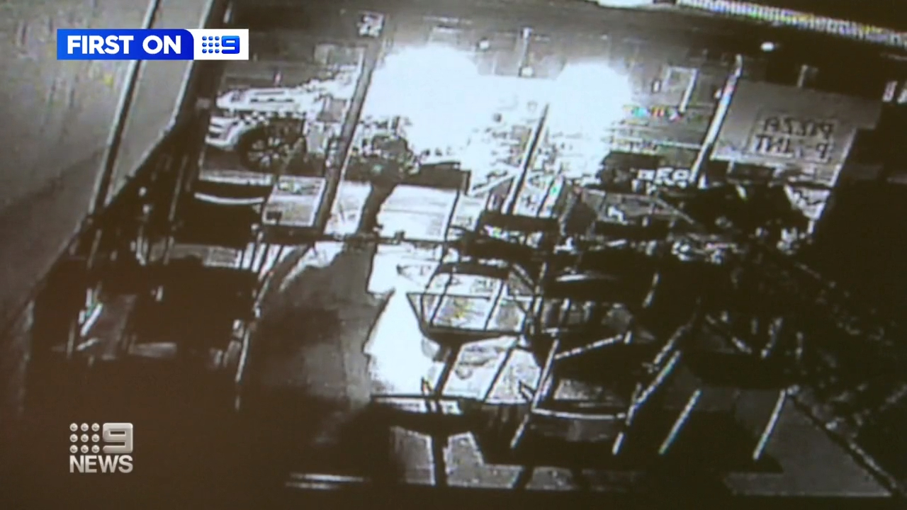 A Melbourne pizza joint has been broken into three times in 10 days