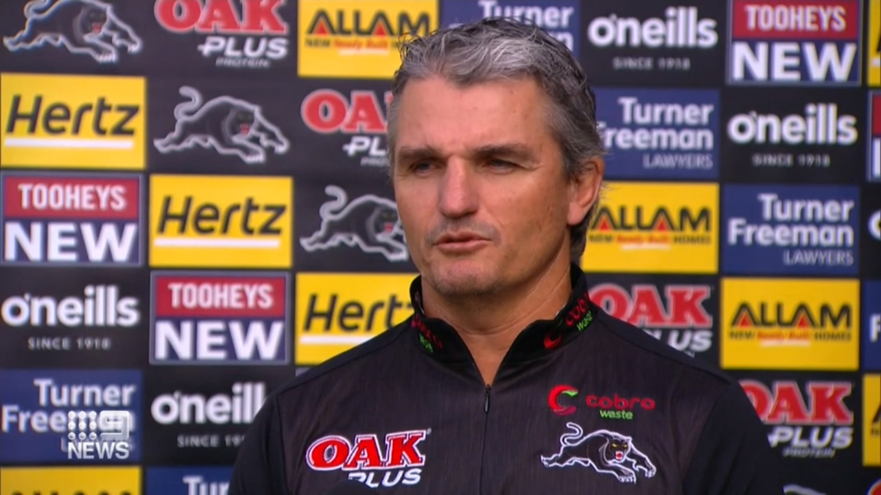 Cleary hits back at Panthers detractors