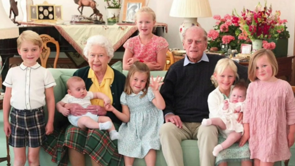 Unseen photos of royal family revealed