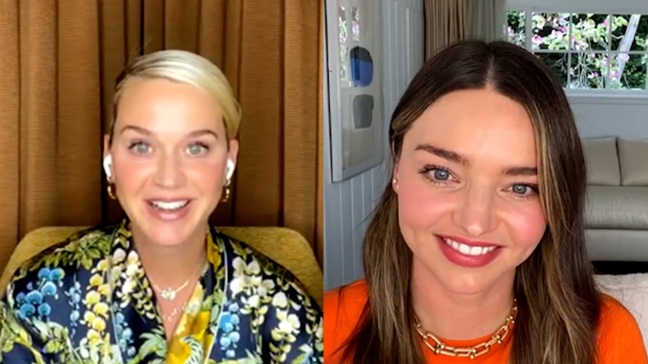 Katy Perry and Miranda Kerr talk about their blended family