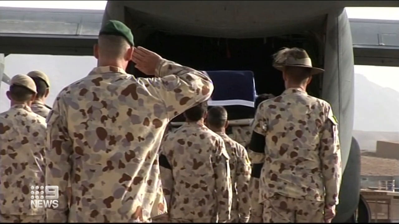 Remaining Australian troops being removed from Afghanistan