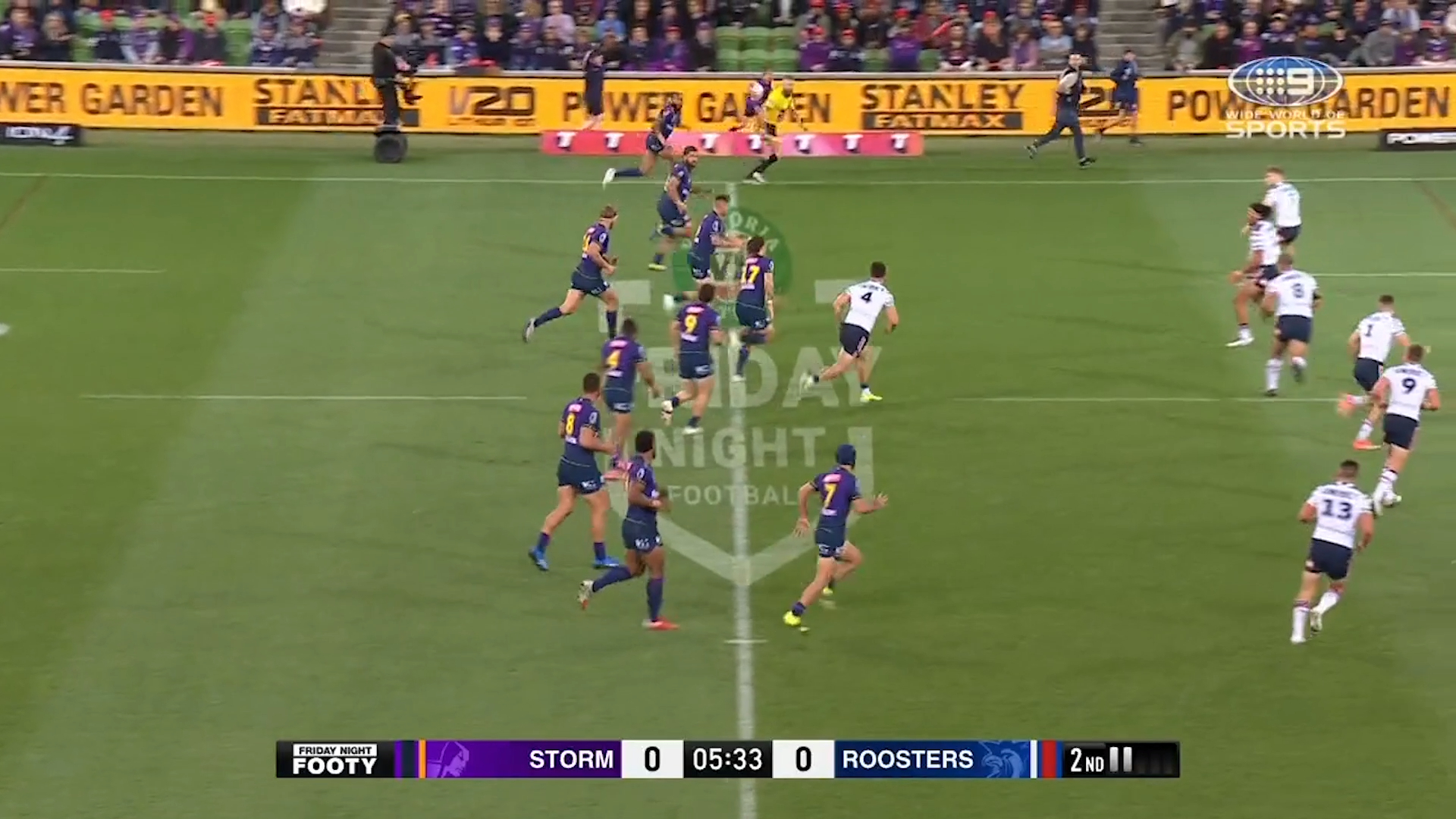 NRL Highlights: Storm too strong for the Roosters - Round 6