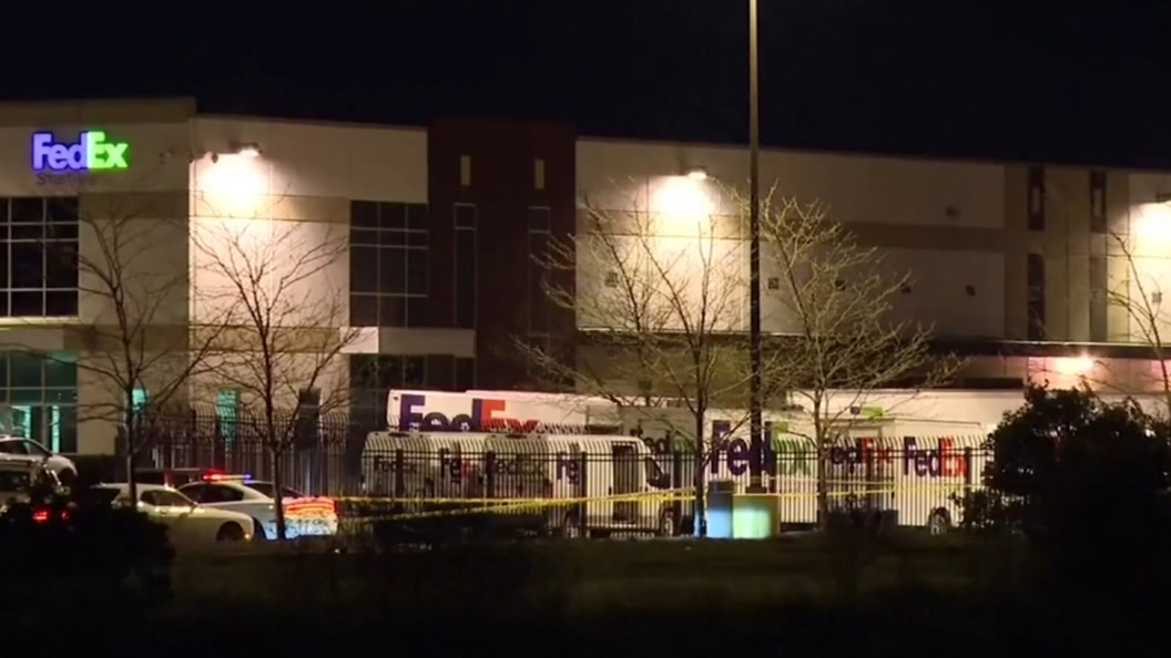 Eight people shot dead at FedEx facility in US