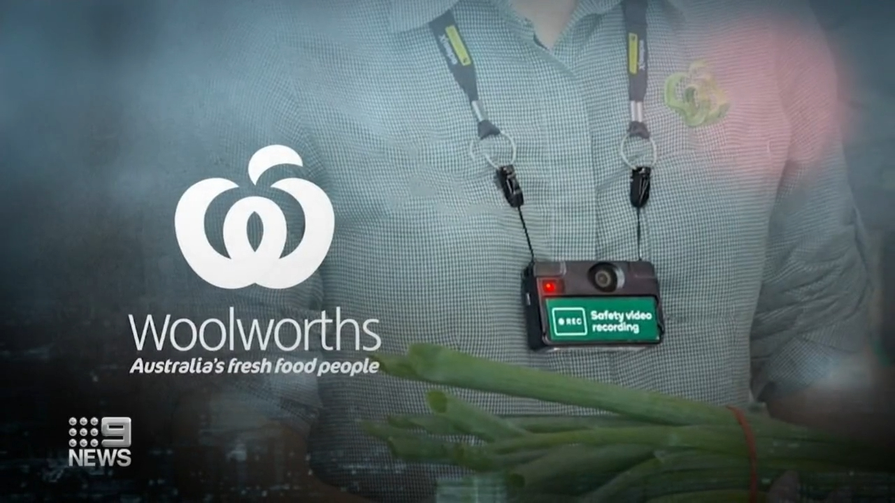 Woolworths staff to wear body cams to target online abuse