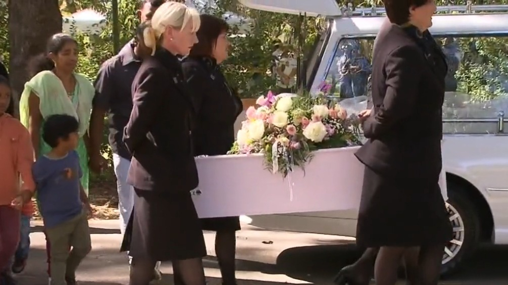 Funeral held for child who died at Perth Children's Hospital