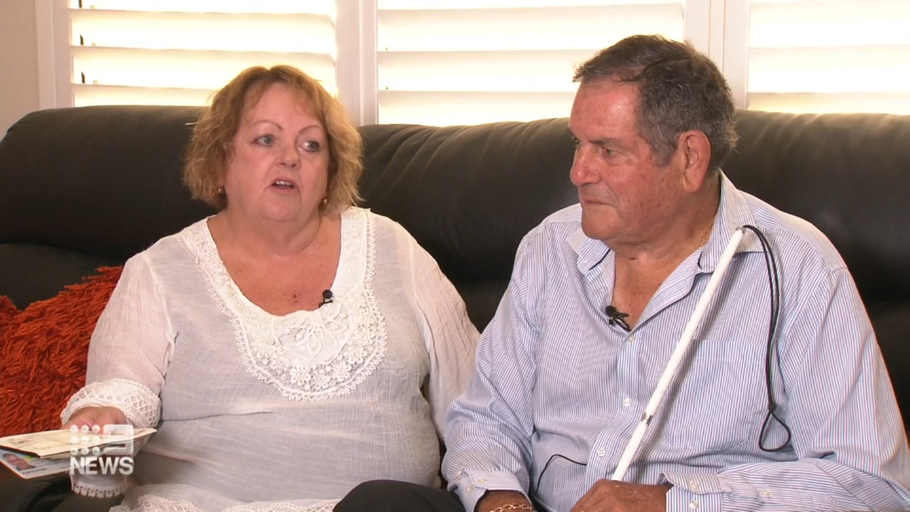 Elderly blind couple refused taxi