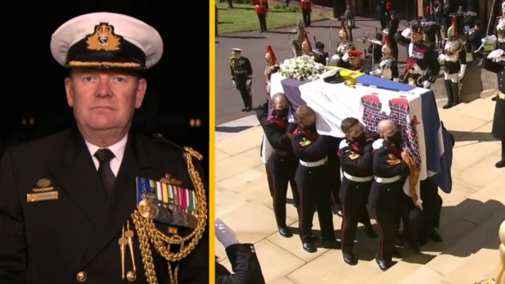 Australian representative describes 'powerful' Prince Philip funeral procession