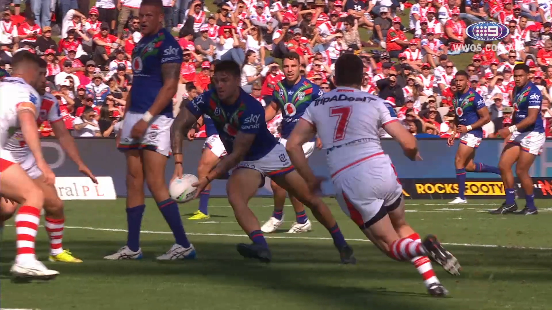 NRL Highlights: The Warriors outlast the Dragons in a Sunday battle - Round 6