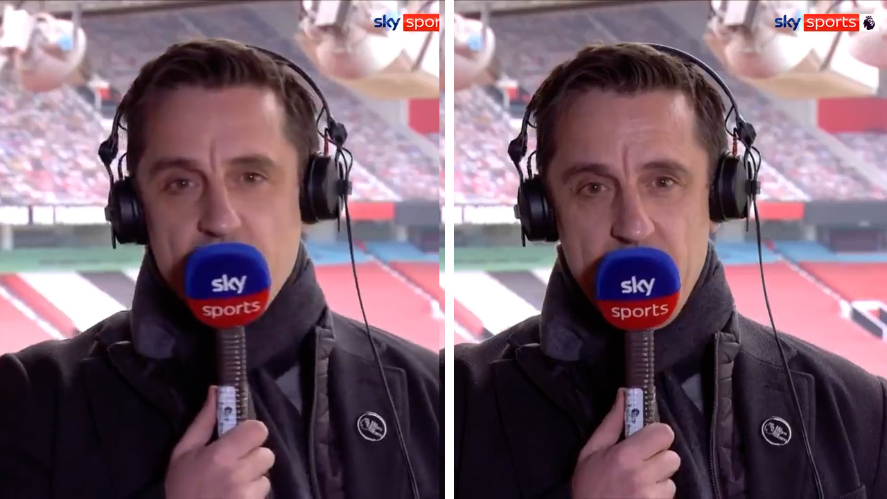 Gary Neville slams European Super League