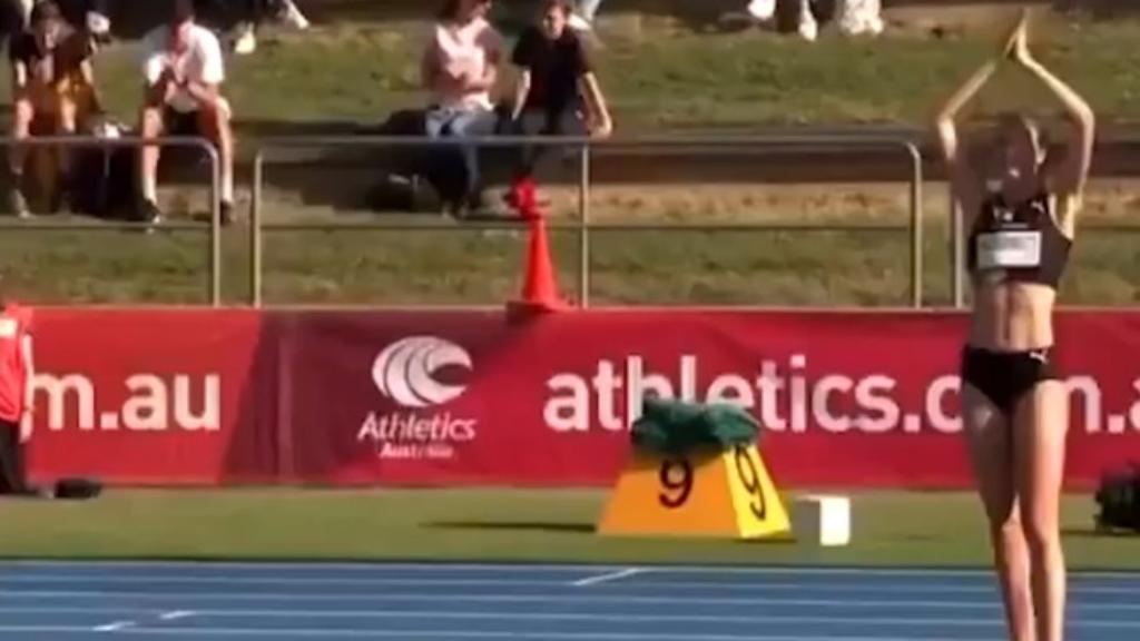 McDermott breaks high jump record