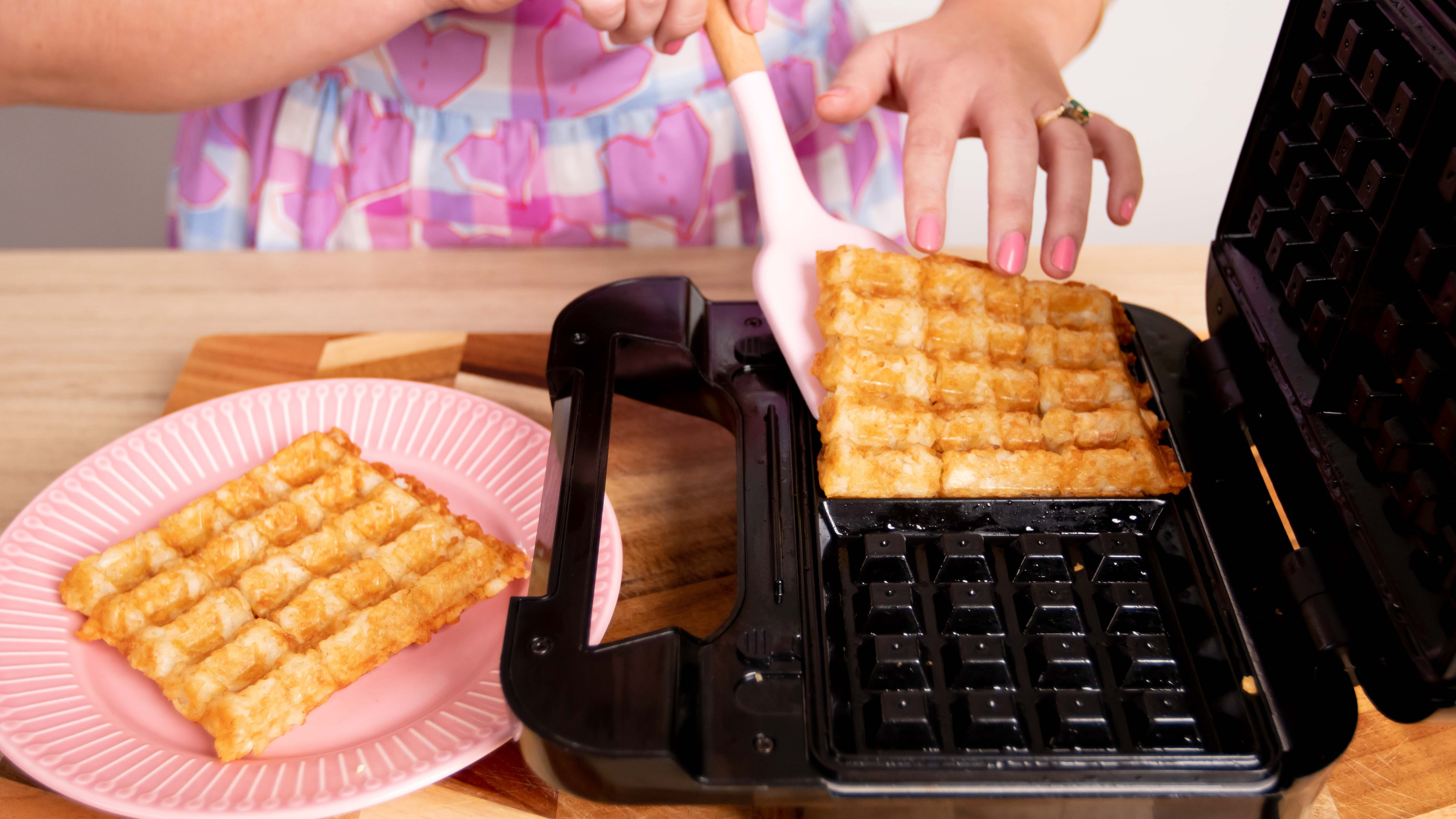 Ultimate potato gem waffle hack