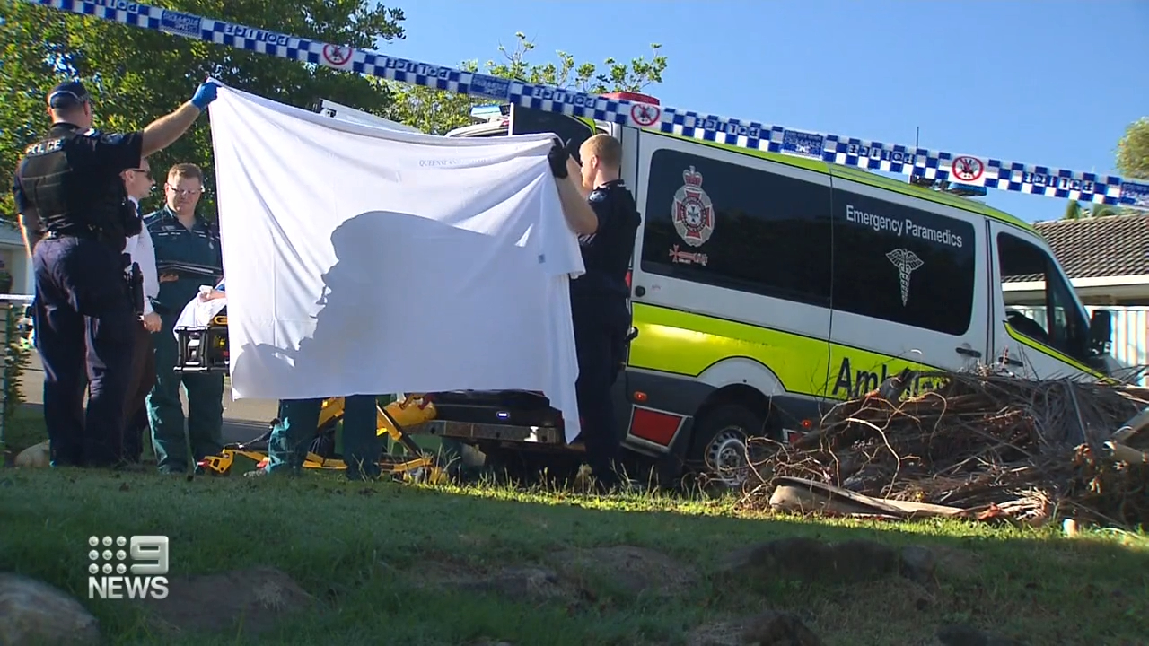 Woman identified after body found with burns in Gold Coast backyard