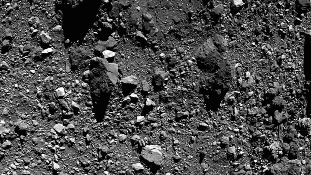 NASA spacecraft touches down on asteroid
