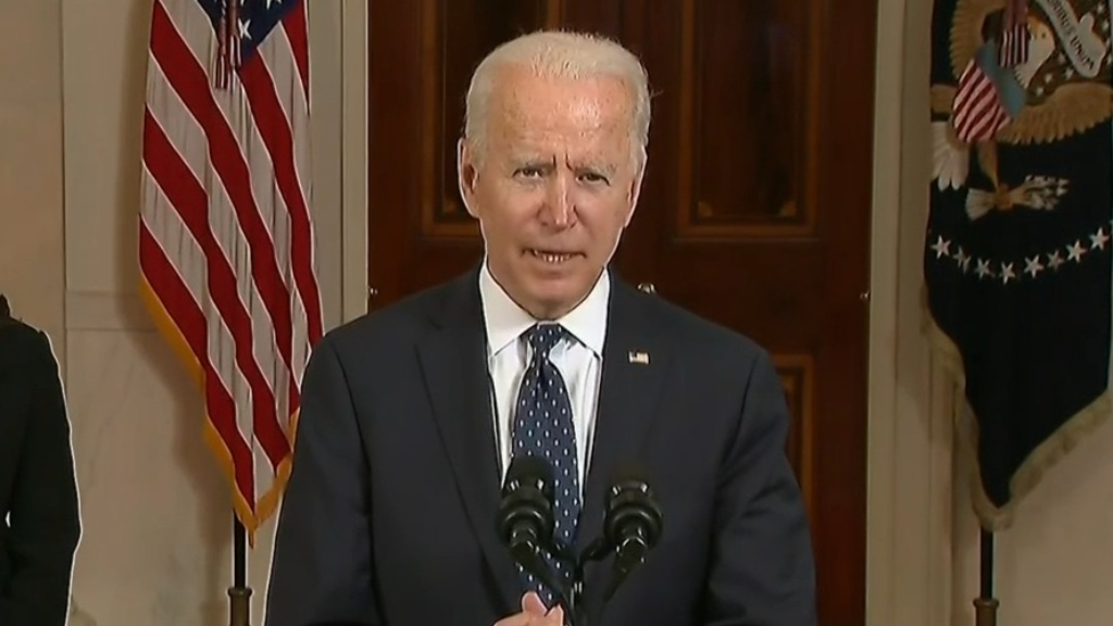 Joe Biden: Derek Chauvin guilty verdict 'a giant step forward'