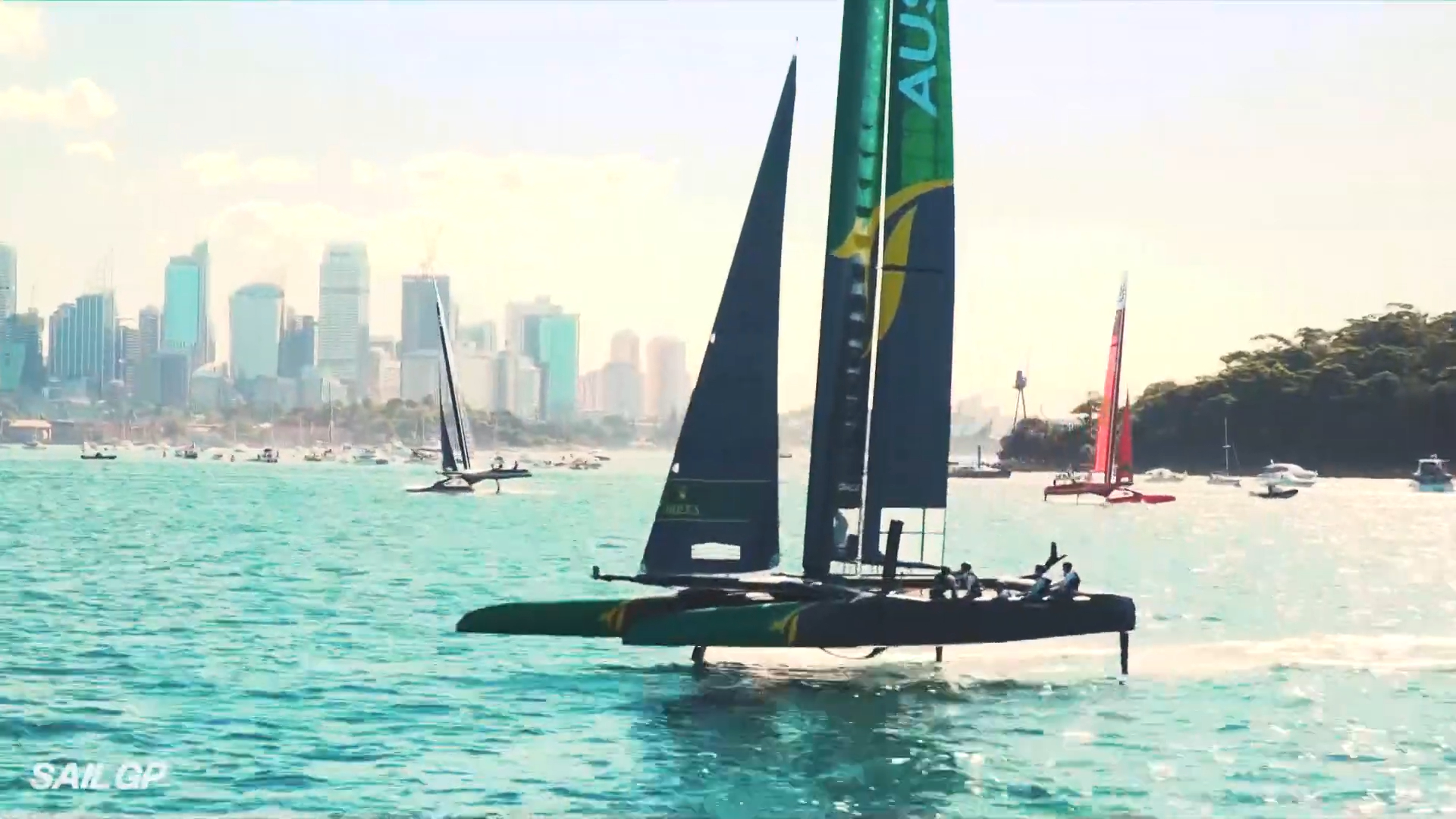 Australia wins inaugural SailGP season