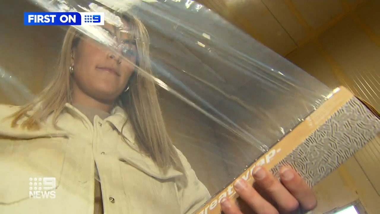 A Melbourne couple develop compostable cling wrap