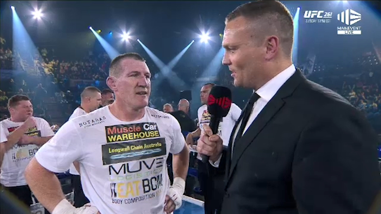 Gal speaks after stunning Browne stoppage