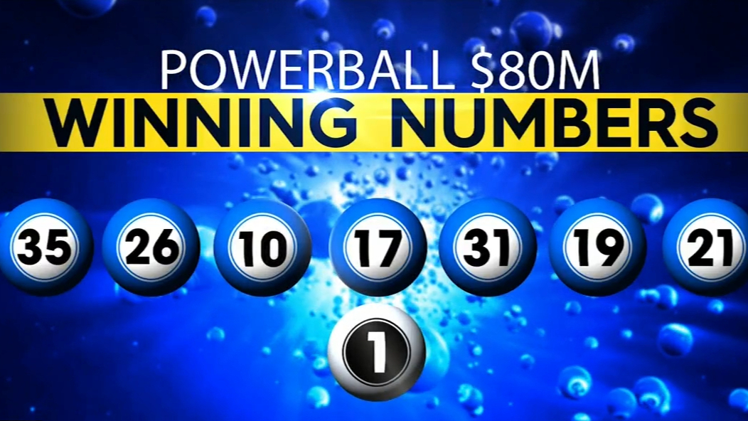 Powerball's $80 million jackpot won by two entries