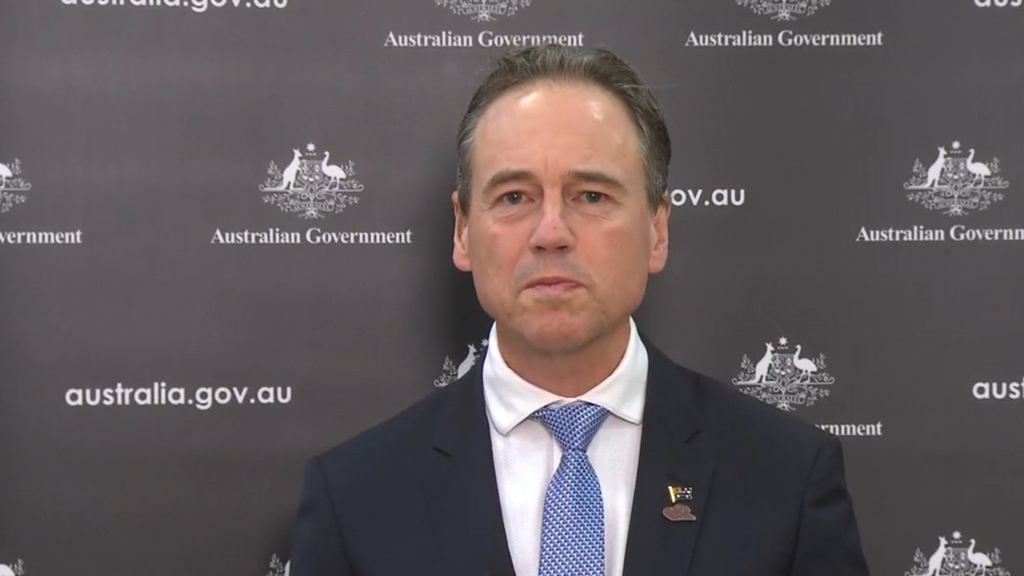 Minister for Health Greg Hunt discusses the vaccine rollout