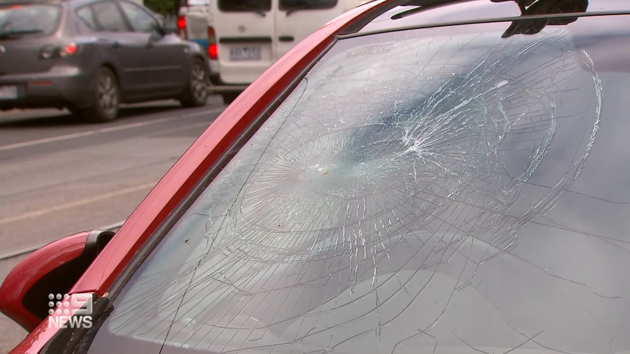 Man arrested over alleged car-smashing spree
