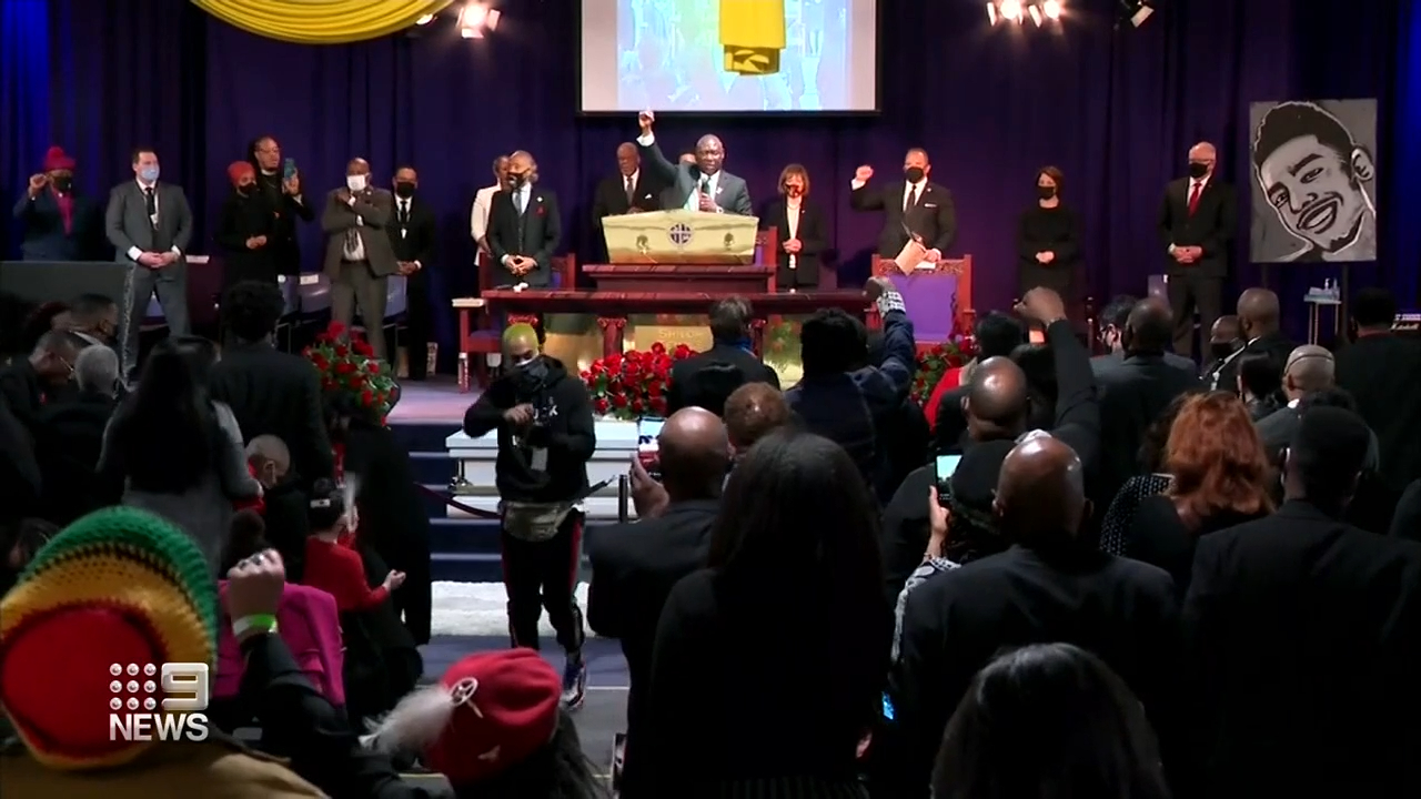 Daunte Wright laid to rest amid calls for police reform